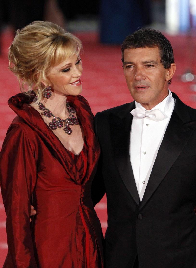 Melanie Griffith i Antonio Banderas /Pablo Blazquez /Getty Images