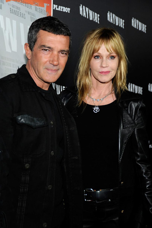 Melanie Griffith i Antonio Banderas /Frazer Harrison /Getty Images