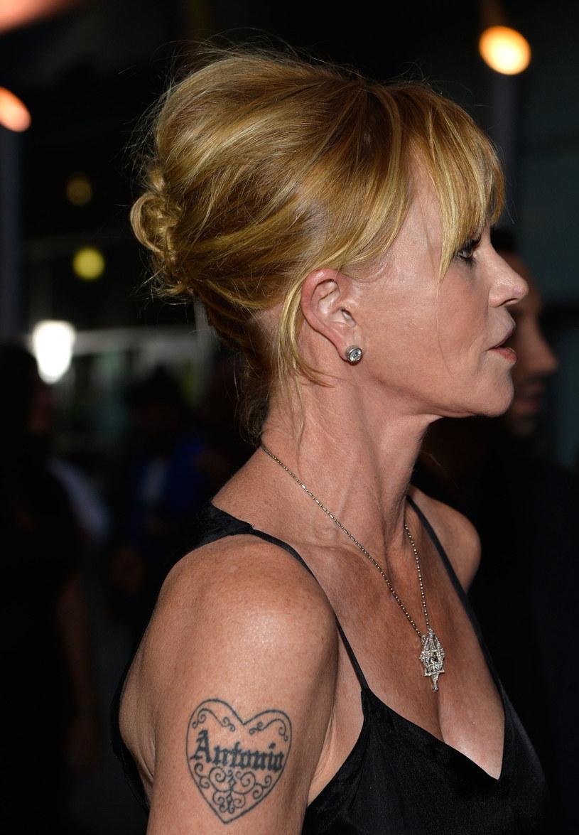 Melanie Griffith Zamazała Tatuaż Z Imieniem Męża Pomponikpl