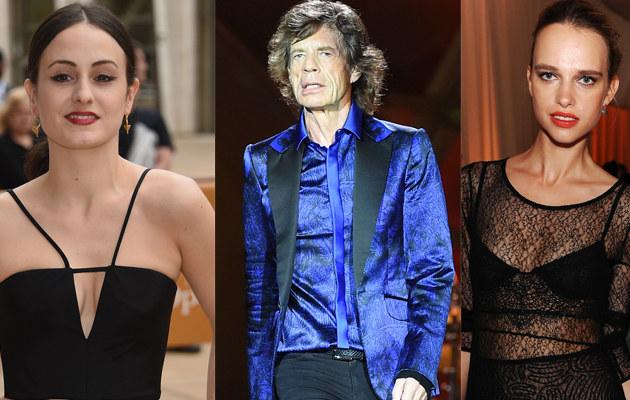 Melanie Hamrick, Mick Jagger, Masha Rudenko /Dimitrios Kambouris, Jason Merritt /Getty Images