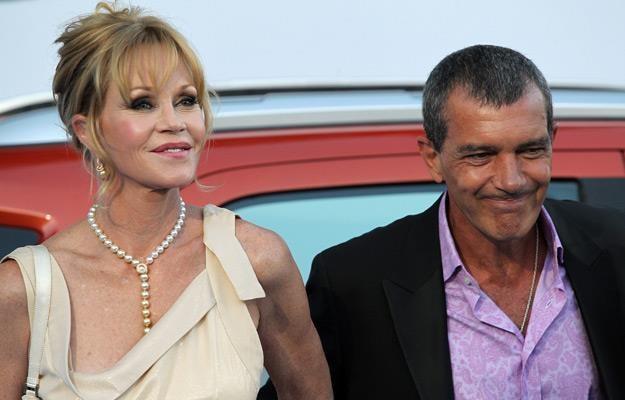Melaniee Griffith i Antonio Banderas, fot. Daniel Perez /Getty Images