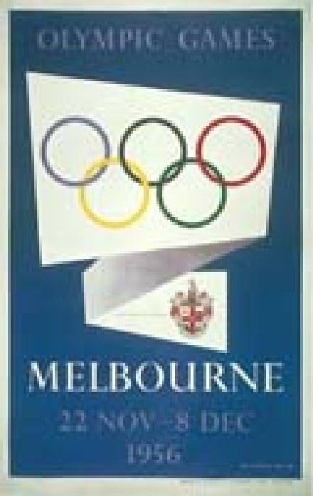 Melbourne z llistopada 1956 r. /INTERIA.PL