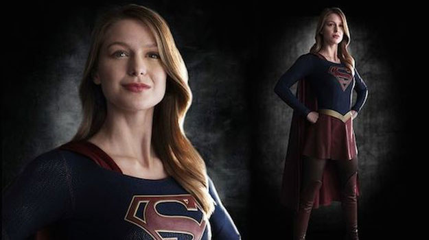 Melissa Benoist jako Supergirl /materiały prasowe