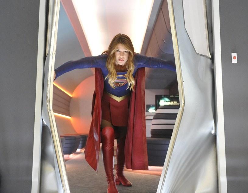 Melissa Benoist jako Supergirl /BERLATI PROD/WARNER BROS TV /East News