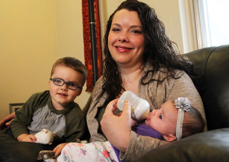 Melissa Fox i jej dzieci /The Ohio State University Wexner Medical Center /materiały prasowe