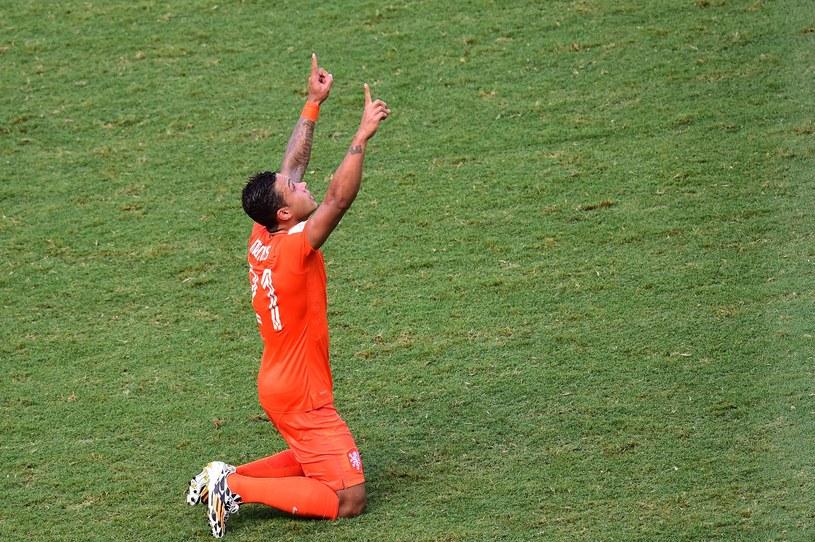 Memphis Depay zdobył w Brazylii już dwie bramki /AFP