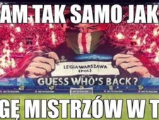 Memy po odpadnięciu Legii z Ligi Mistrzów
