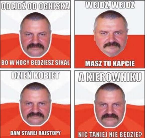 Memy z Panem Andrzejem zniszczyły życie sympatycznego dzielnicowego z Pasłęka /materiały prasowe