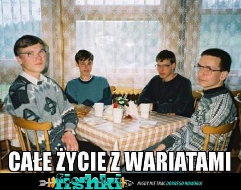 Memy z tą czwórką obiegły całą sieć /Fishki.pl /INTERIA.PL