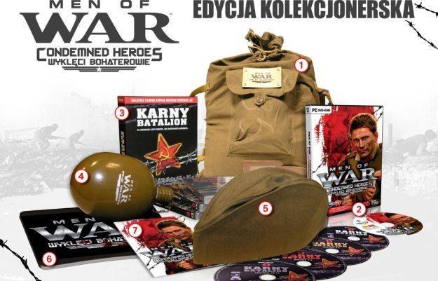 Men of War: Wyklęci Bohaterowie - zawartość edycji kolekcjonerskiej /Informacja prasowa