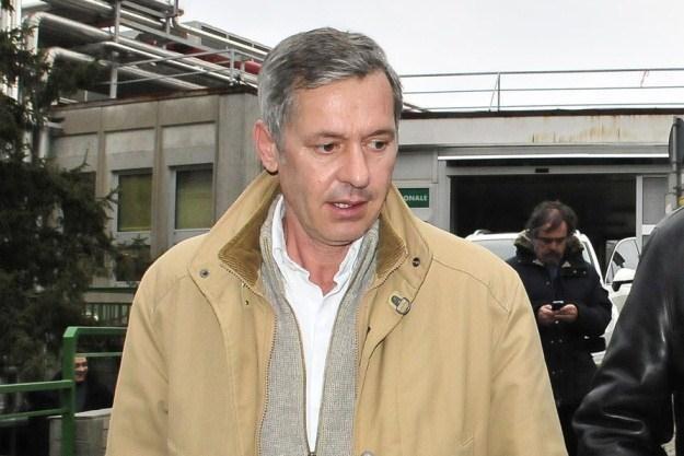 Menadżer Roberta Kubicy, Daniele Morelli /AFP