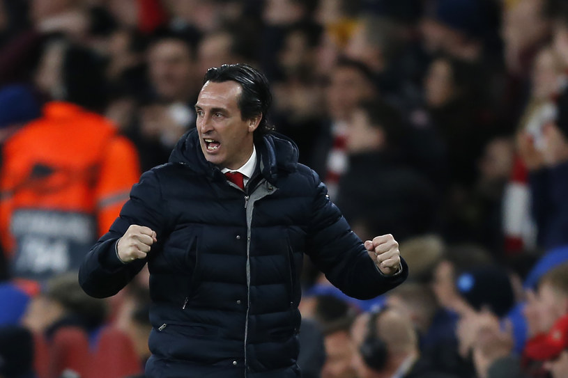Menedżer Arsenalu - Unai Emery /AFP