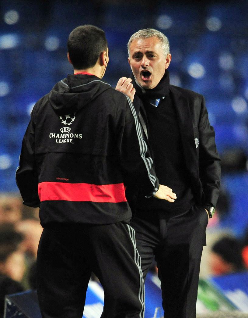 Menedżer Chelsea Londyn Jose Mourinho /AFP