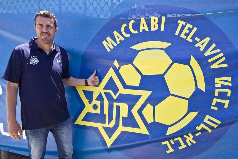 Menedżer Maccabi Tel Awiw Hiszpan Oscar Garcia /AFP