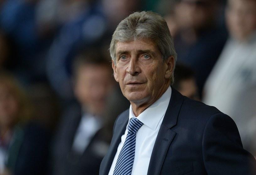 Menedżer Manchesteru City Manuel Pellegrini /AFP