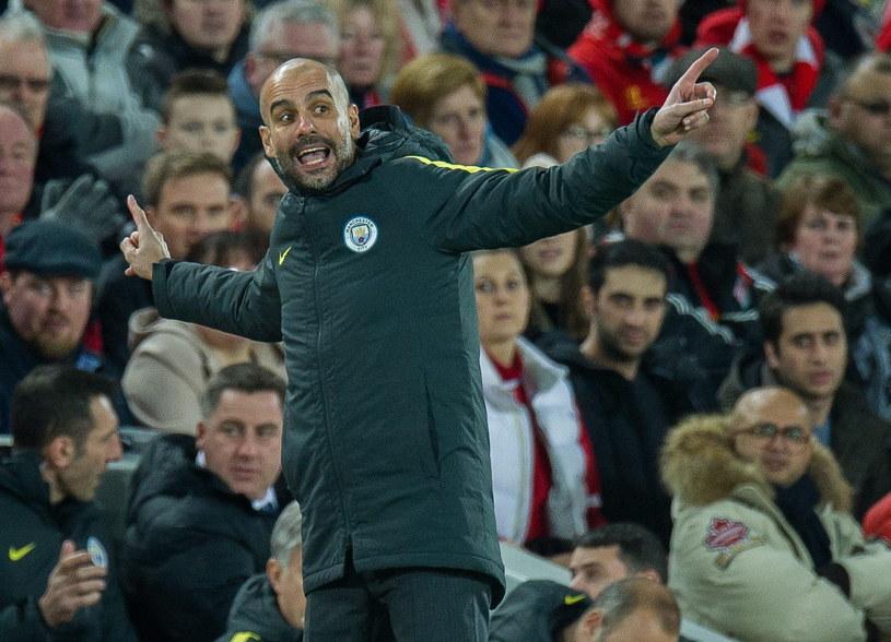 Menedżer Manchesteru City Pep Guardiola /PAP/EPA