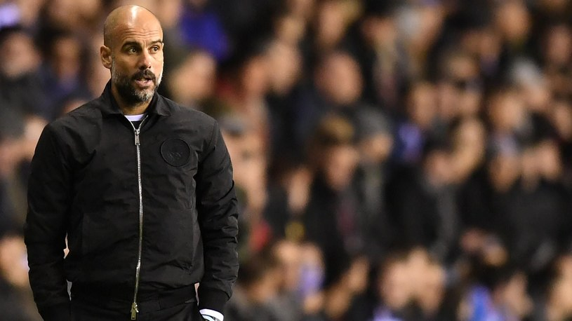 Menedżer Manchesteru City Pep Guardiola /Getty Images