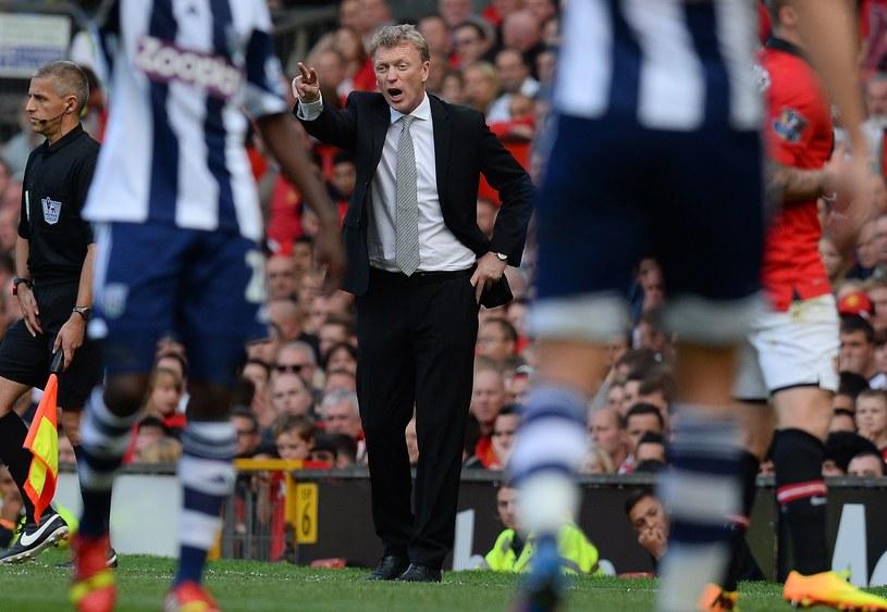 Menedżer Manchesteru United David Moyes /AFP