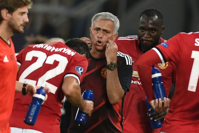 Menedżer Manchesteru United Jose Mourinho /AFP
