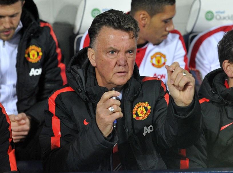 Menedżer Manchesteru United Louis van Gaal /AFP