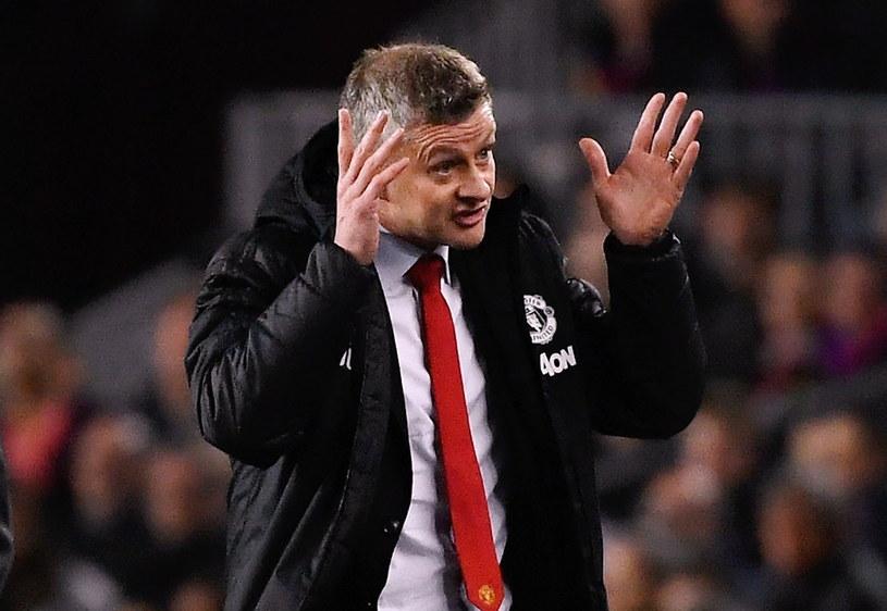 Menedżer Manchesteru United Ole Gunnar Solskjaer /AFP