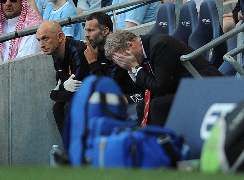 Menedżer United David Moyes nie miał powodów do radości /AFP