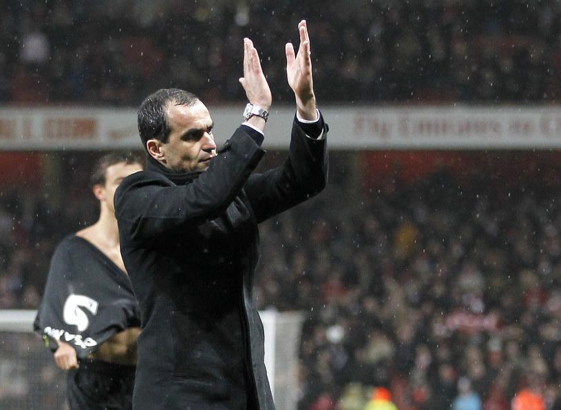 Menedżer Wigan Roberto Martinez /AFP