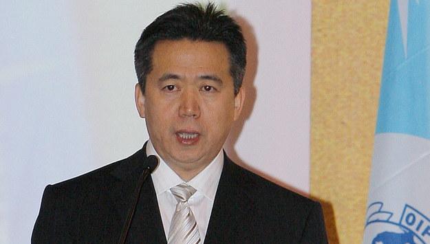Meng Hongwei /YM YIK    /PAP/EPA