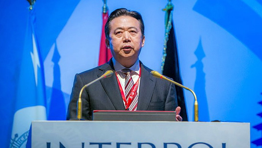 Meng Hongwei /Interpol /PAP/EPA