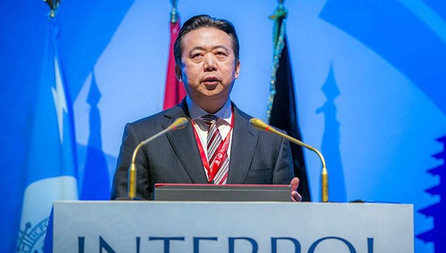 Meng Hongwei /INTERPOL / HANDOUT /PAP/EPA