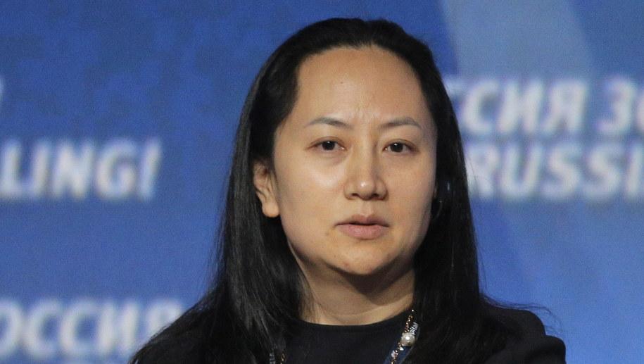 Meng Wanzhou jest córką założyciela firmy /MAXIM SHIPENKOV    /PAP/EPA