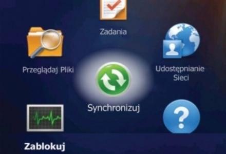 Menu główne Windows Mobile 6.5 - wygląda inaczej niż ekran tutułowy autorstwa HTC /materiały prasowe