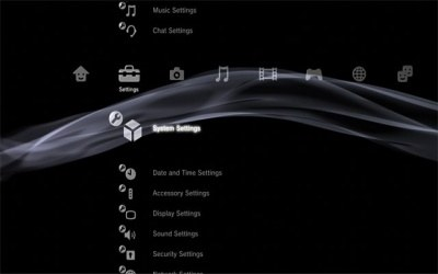 Menu konsoli PlayStation 3 /Gry-Online