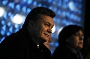 Mer Charkowa: Janukowycz poza Ukrainą
