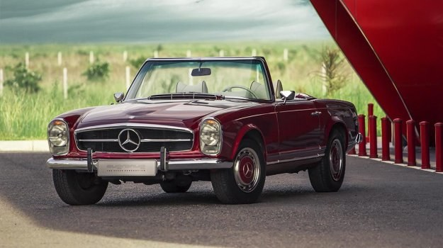 Mercedes 280 SL W113 by Overdrive /overdrive.bg