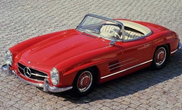 Mercedes 300 SL roadster /