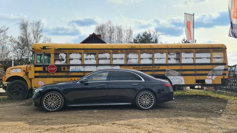 Mercedes 400 d 4MATIC Long /INTERIA.PL