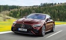 Mercedes-AMG GT 4-drzwiowe coupe przeszedł drobną modernizację