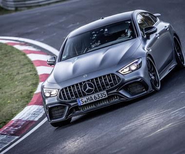 Mercedes-AMG GT 63 S 4MATIC+ 4-drzwiowe coupe z rekordem na Nurburgringu