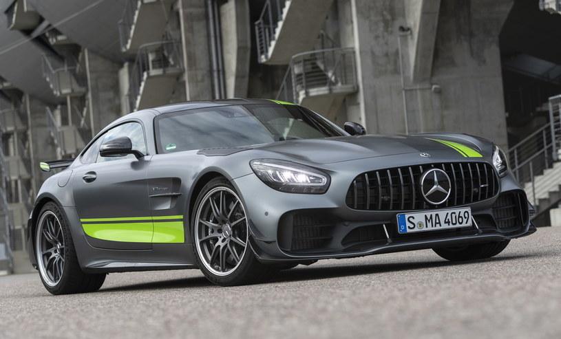 Mercedes-AMG GT R Pro. Dokładnie taki samochód został skradziony /