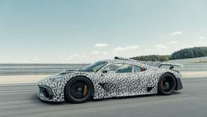 Mercedes-AMG Project przechodzi testy