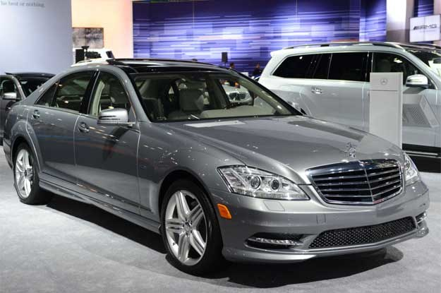 Mercedes-Benz 250 CDI BlueEFFICIENCY,   World Green Car of the Year 2012 /AFP