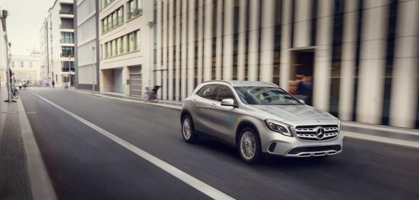 Mercedes-Benz GLA /materiały prasowe