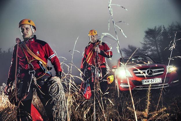 Mercedes-Benz, który od dwóch lat wspiera GOPR, przekazał  ratownikom osiem samochodów modelu GLK /