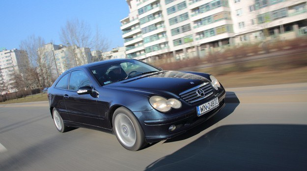 Mercedes C Sportcoupe /Motor