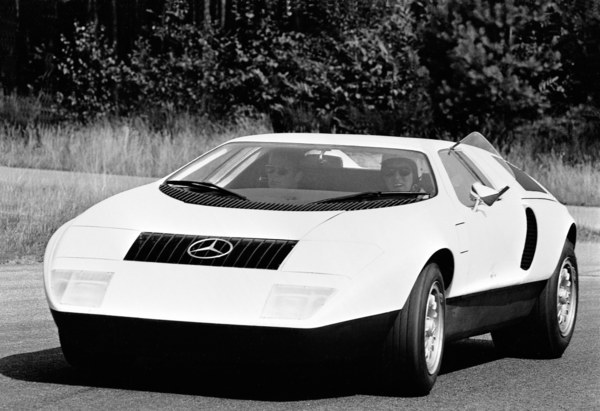 Mercedes C111-I (1969)