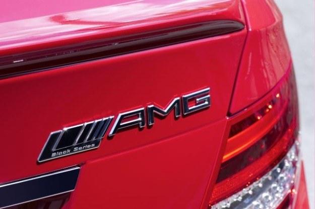 Mercedes C63 AMG black series /