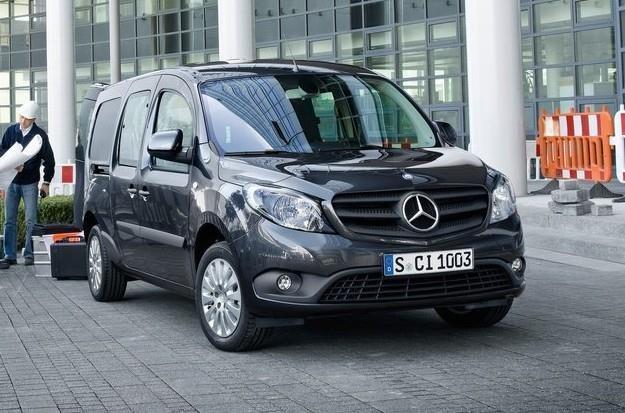 Mercedes Citan czyli Renault Kangoo /