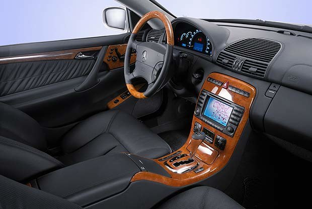 Mercedes CL600 (kliknij) /INTERIA.PL