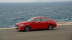 Mercedes CLA - pierwsza jazda